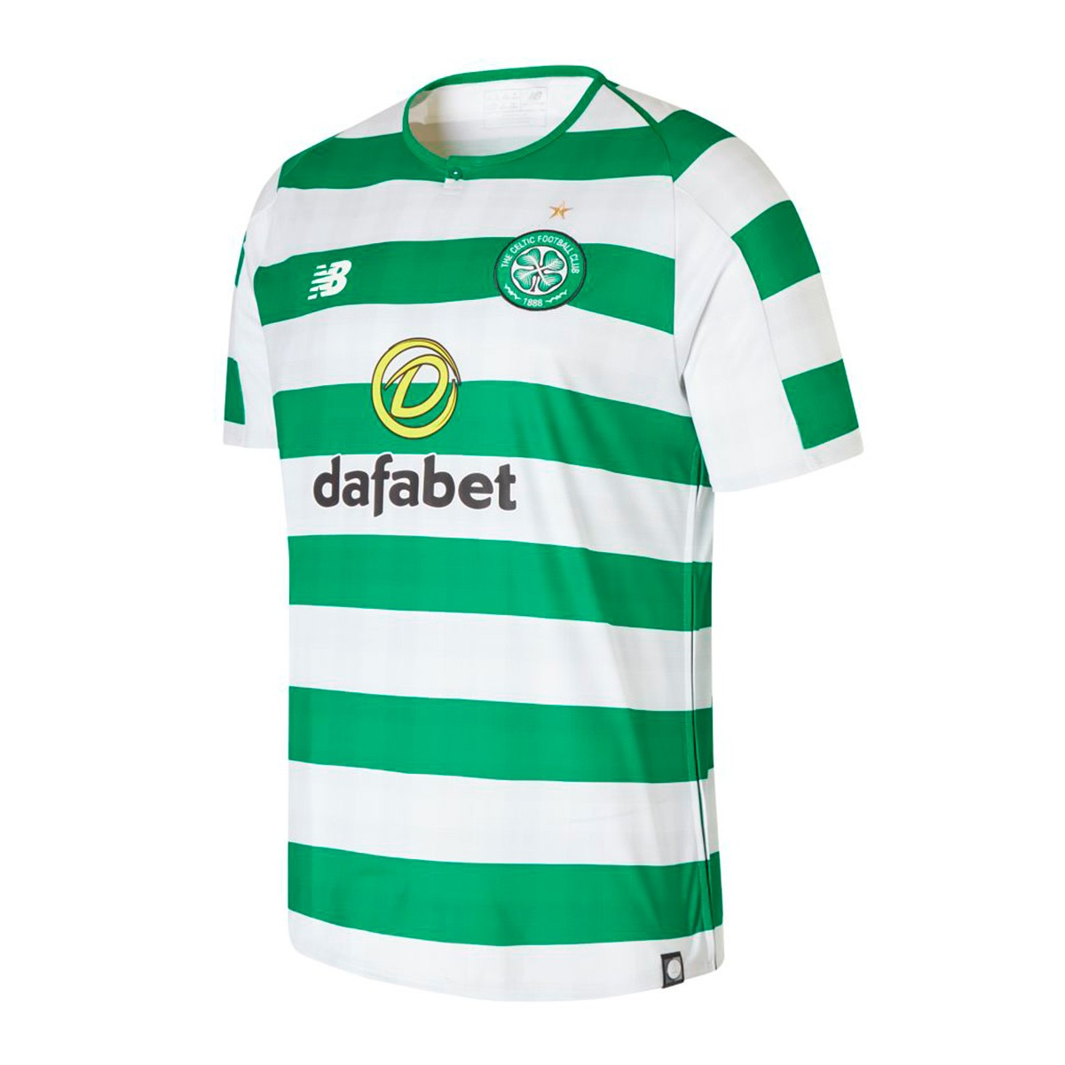 3f5051423 New Balance Celtic Glasgow FC 2018-2019 Home Jersey. White-Green ...