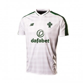 Playera  New Balance Celtic Glasgow FC Segunda Equipación 2018-2019 White