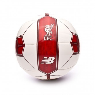 Pallone  New Balance Liverpool FC Distpach 2018-2019 White-Red