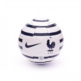 Ball  Nike France Skills 2018-2019 Obsidian-Deep royal-White