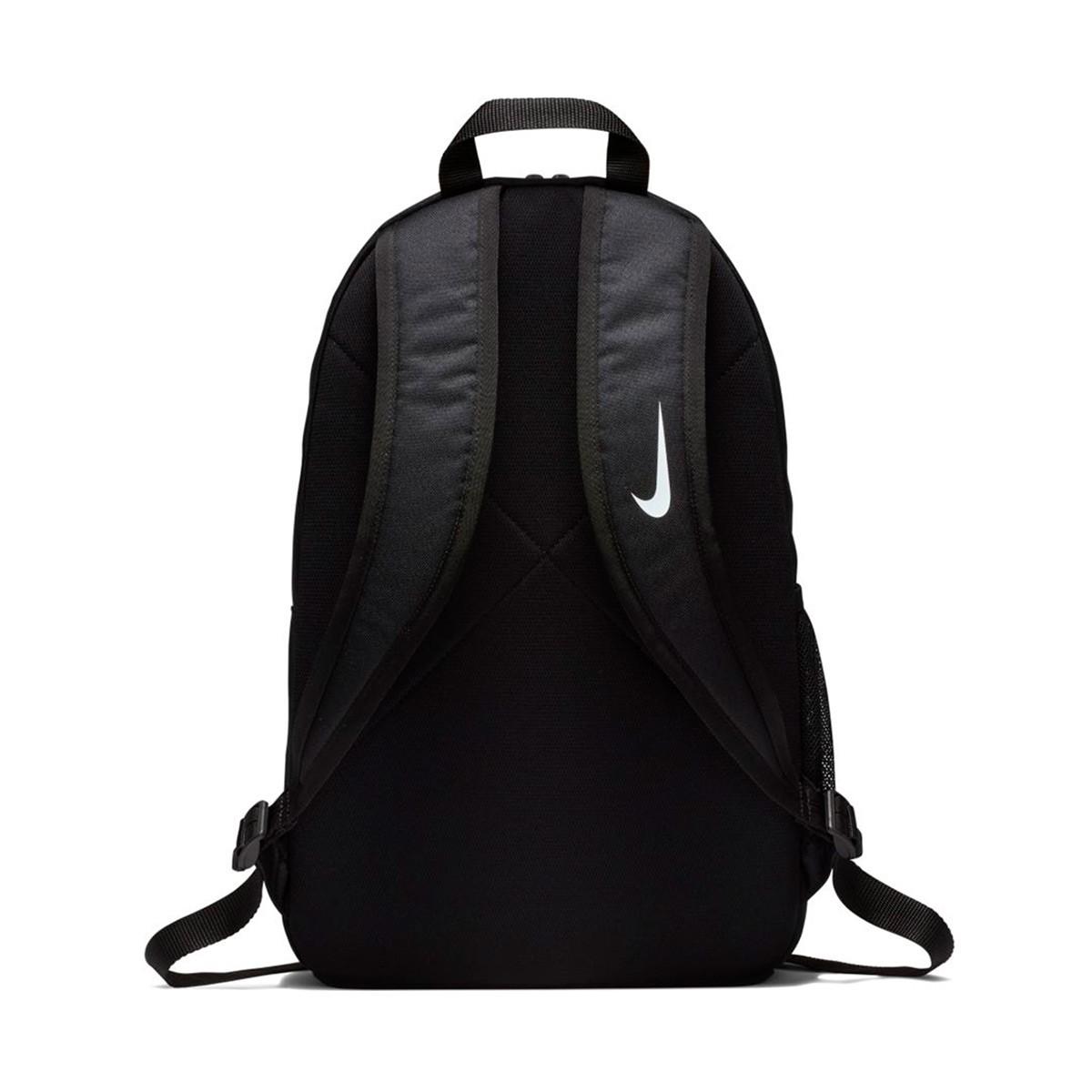 plátano cartel alma  Backpack Nike Academy Team Y Black-White - Football store Fútbol Emotion