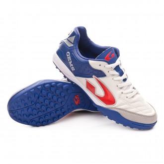 Football Boot  Gems Viper FX Turf White-Blue
