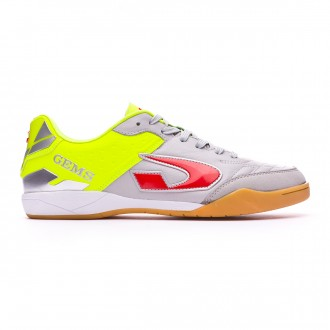 Futsal Boot  Gems Viper FX IN Grey-Yellow