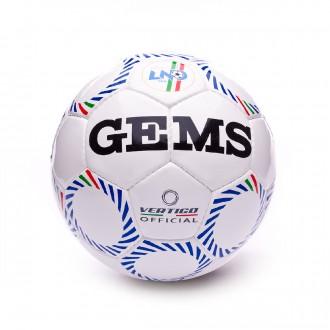 Bola de Futebol  Gems Vertigo Official Divisione Calcio A 5 Branco