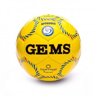 Bola de Futebol  Gems Vertigo Junior Amarelo