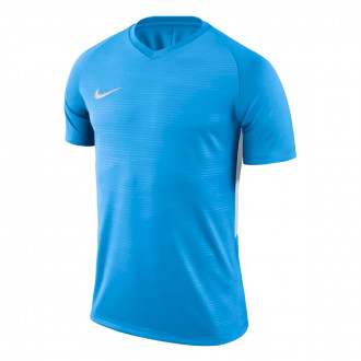 Camiseta  Nike Tiempo Premier m/c University blue-White