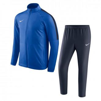 Fato de treino Nike Academy 18 Woven Royal blue-Obsidian-White
