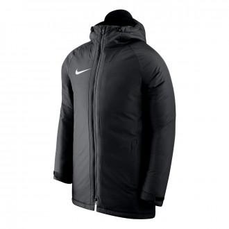 Abrigo  Nike Academy 18 Black-White
