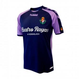 Camiseta  Hummel Real Valladolid CF Segunda Equipación 2018-2019 Marino-Violeta