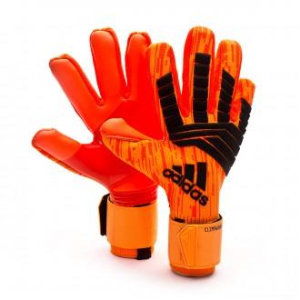 Glove  adidas Predator Clima Warm Solar red-Zest-Black