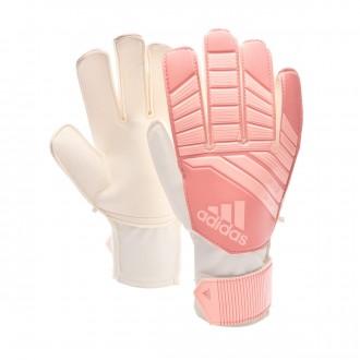 Guante  adidas Predator Niño Clear orange-Trace pink