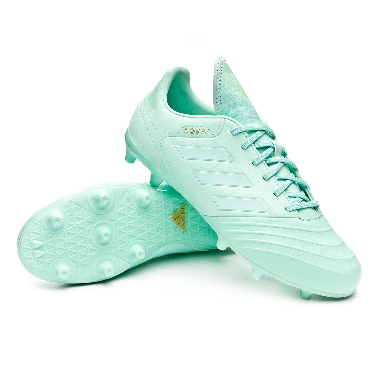 finest selection 517ff faa1e Boot adidas Copa 18.3 FG Clear mint-Clear mint-Gold metallic - Football  store Fútbol Emotion