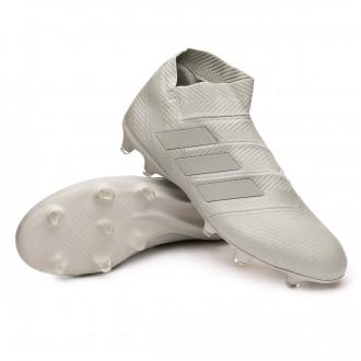 Chuteira  adidas Nemeziz 18+ FG Ash silver-White tint