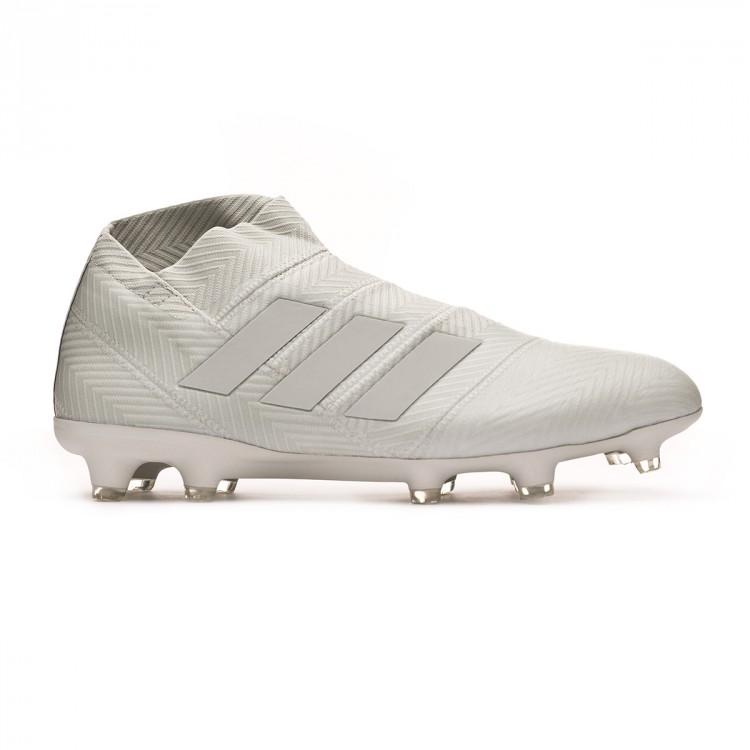 Boot adidas Nemeziz 18+ FG Ash Argent Blanc tint Leaked soccer