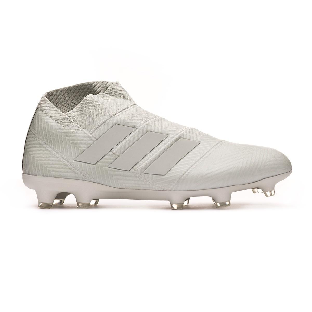 7268e783b59e Football Boots adidas Nemeziz 18+ FG Ash silver-White tint - Football store  Fútbol Emotion