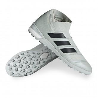 Football Boot  adidas Nemeziz Tango 18+ Turf Ash silver-White tint