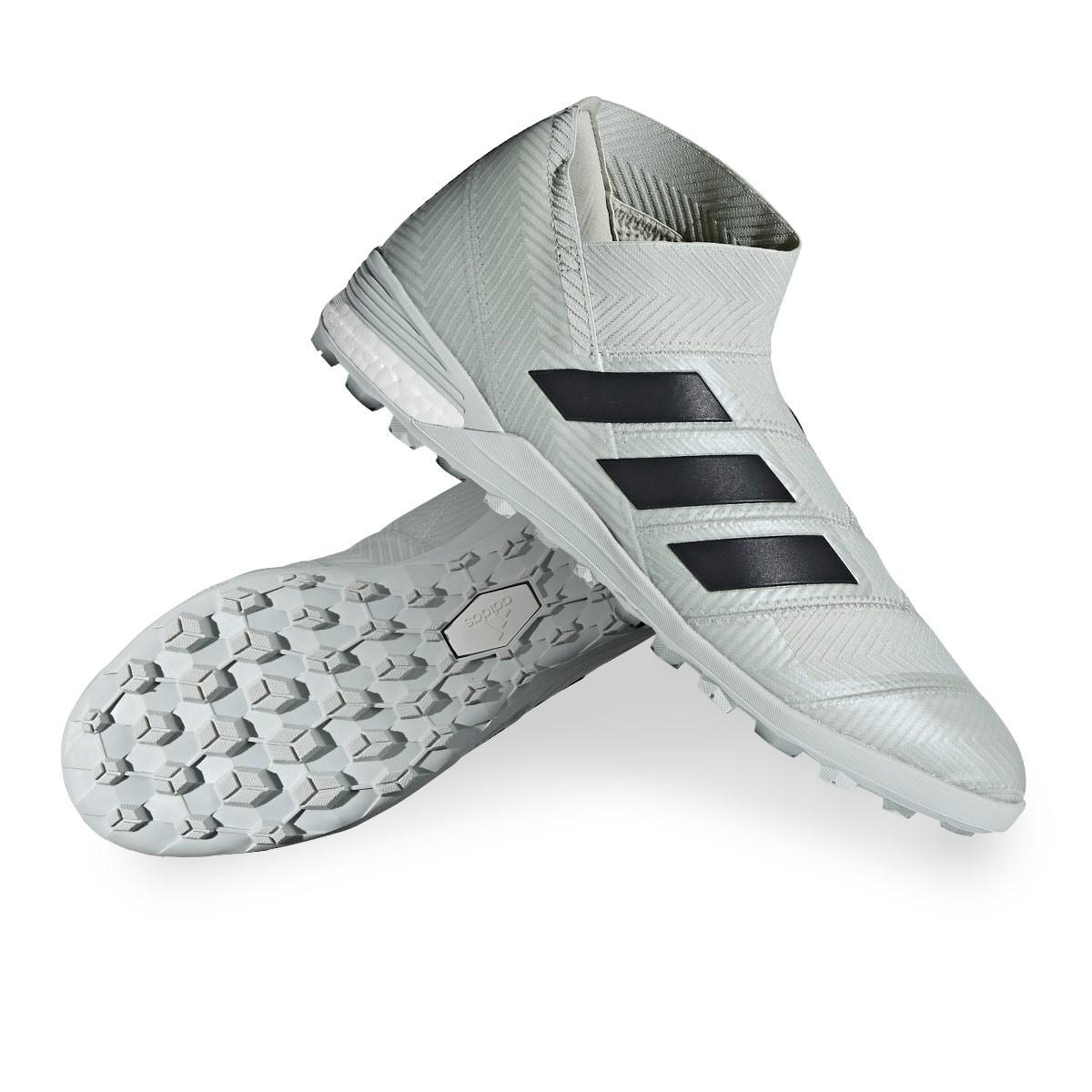 new product 1ca63 d288d Football Boot adidas Nemeziz Tango 18+ Turf Ash silver-White tint - Leaked  soccer