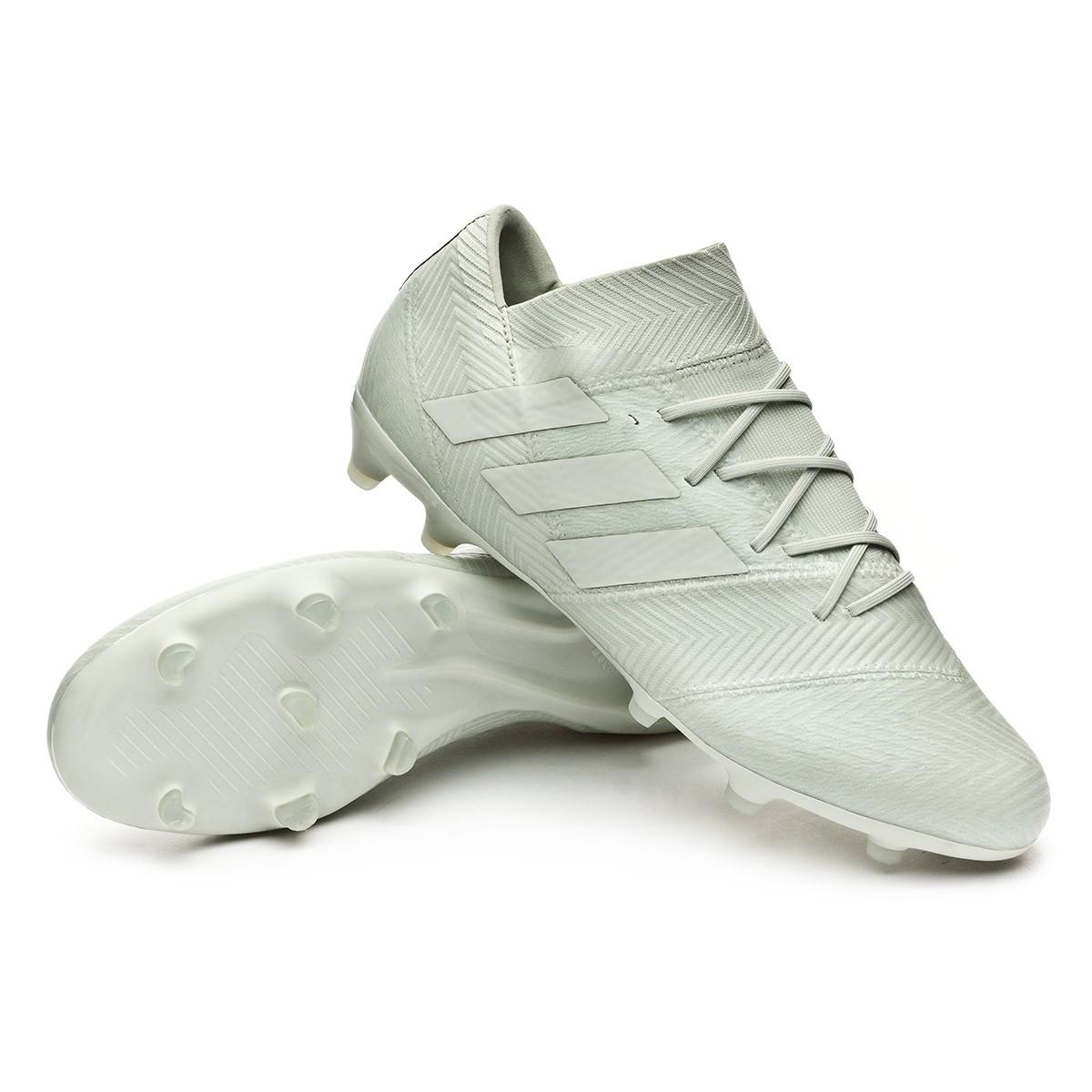 quality design 98dc3 186f2 adidas Nemeziz 18.2 FG Boot. Ash silver-White ...