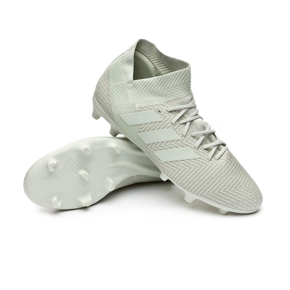 976ff7f82b3 Football Boots adidas Nemeziz 18.3 FG Ash silver-White tint - Tienda ...
