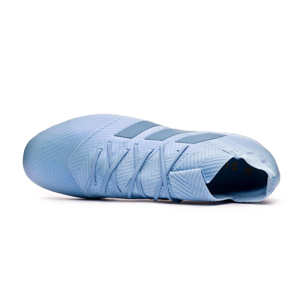NEMEZIZ MESSI 18.1 FG Scarpe da calcetto con tacchetti ash blueraw grey