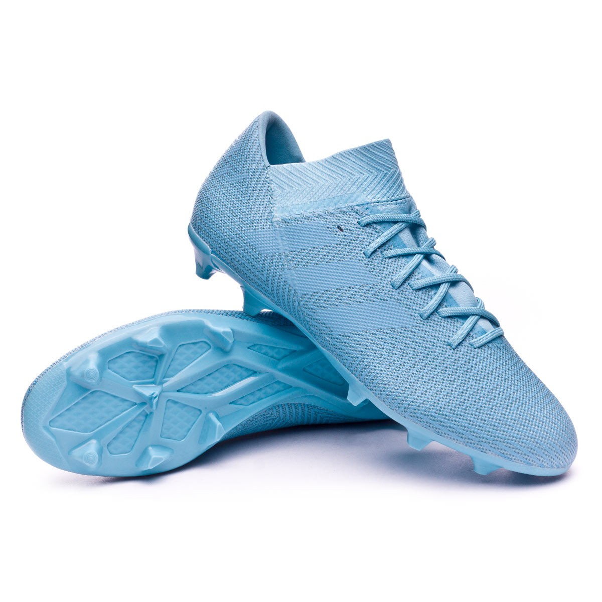 ec34d5652147 Football Boots adidas Nemeziz Messi 18.3 FG Ash blue-Raw grey ...