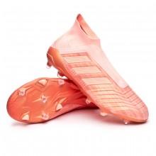uk availability d9c3a cd06b Bota de fútbol adidas Predator 18+ FG Clear orange-Trace pink ...