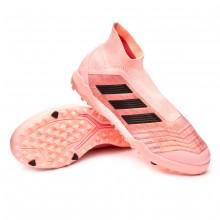 Football Boot Predator Tango 18+ Turf Clear orange-Black-Trace pink