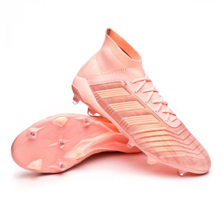Chuteira adidas Predator 18.1 FG Clear orange-Trace pink - Loja de ... 6f889413df8c4