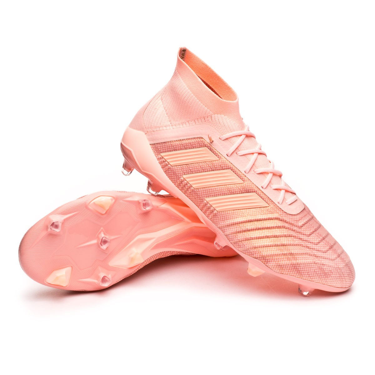 57b8cf03bf4 adidas Predator 18.1 FG Football Boots. Clear orange-Trace pink ...