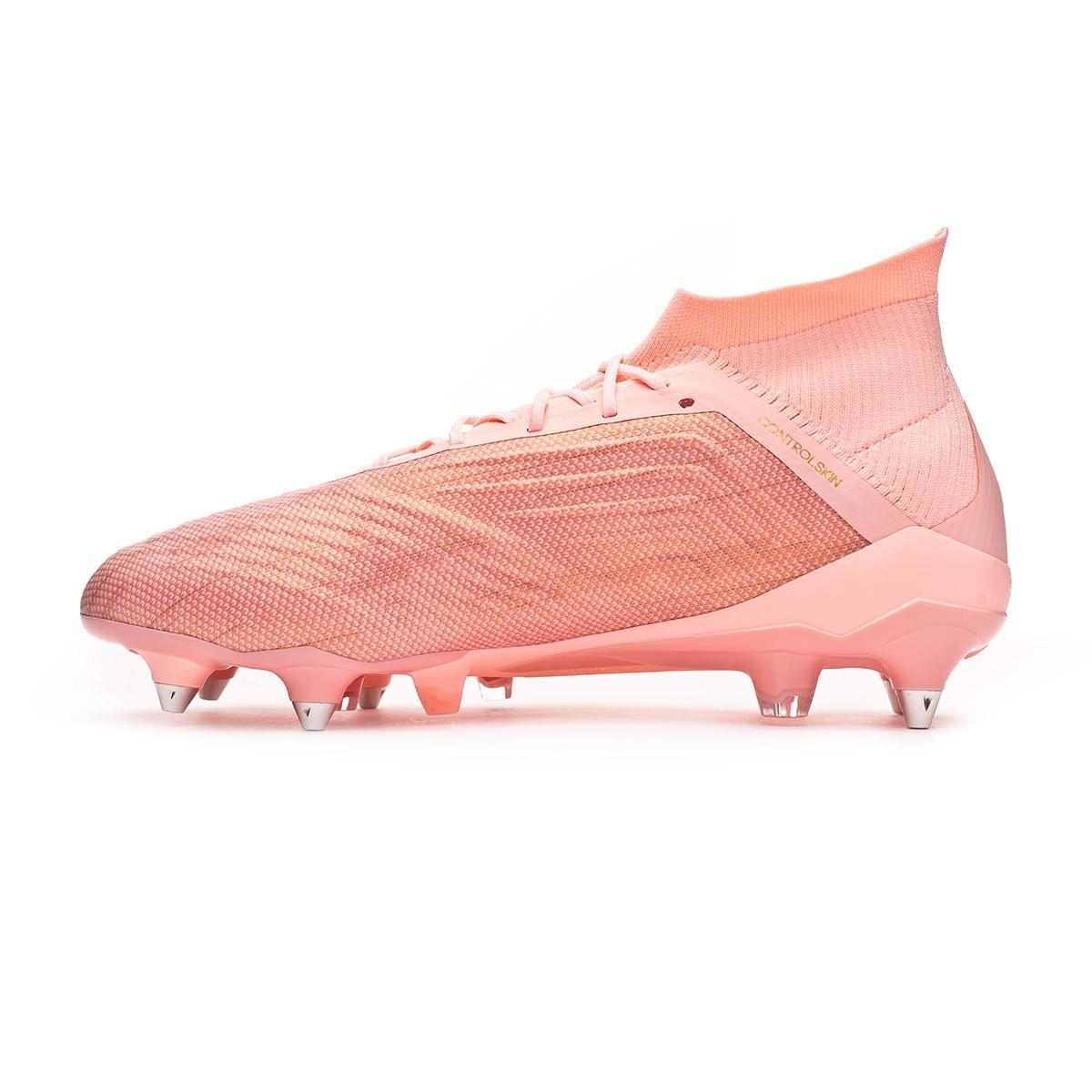 454dabf4924 Football Boots adidas Predator 18.1 SG Clear orange-Trace pink - Football  store Fútbol Emotion