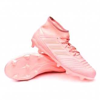 Boot  adidas Predator 18.2 FG Clear orange-Trace pink