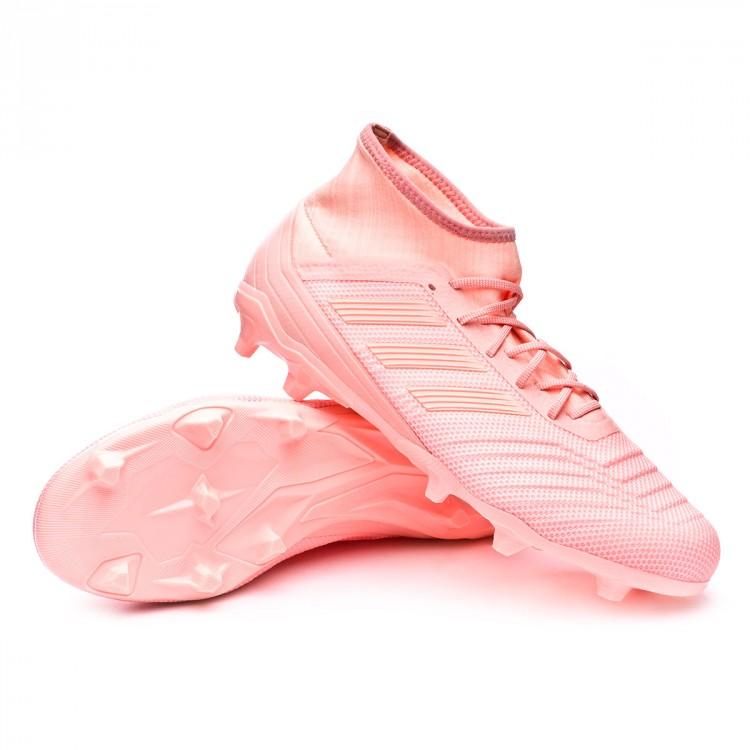 Boot adidas Predator 18.2 FG Clear orange-Trace pink - Football ... 5fc6321a309