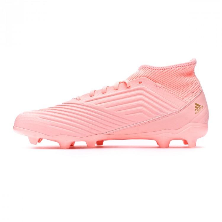 ec0fe37d1e4ae Bota de fútbol adidas Predator 18.3 FG Clear orange-Trace pink ...