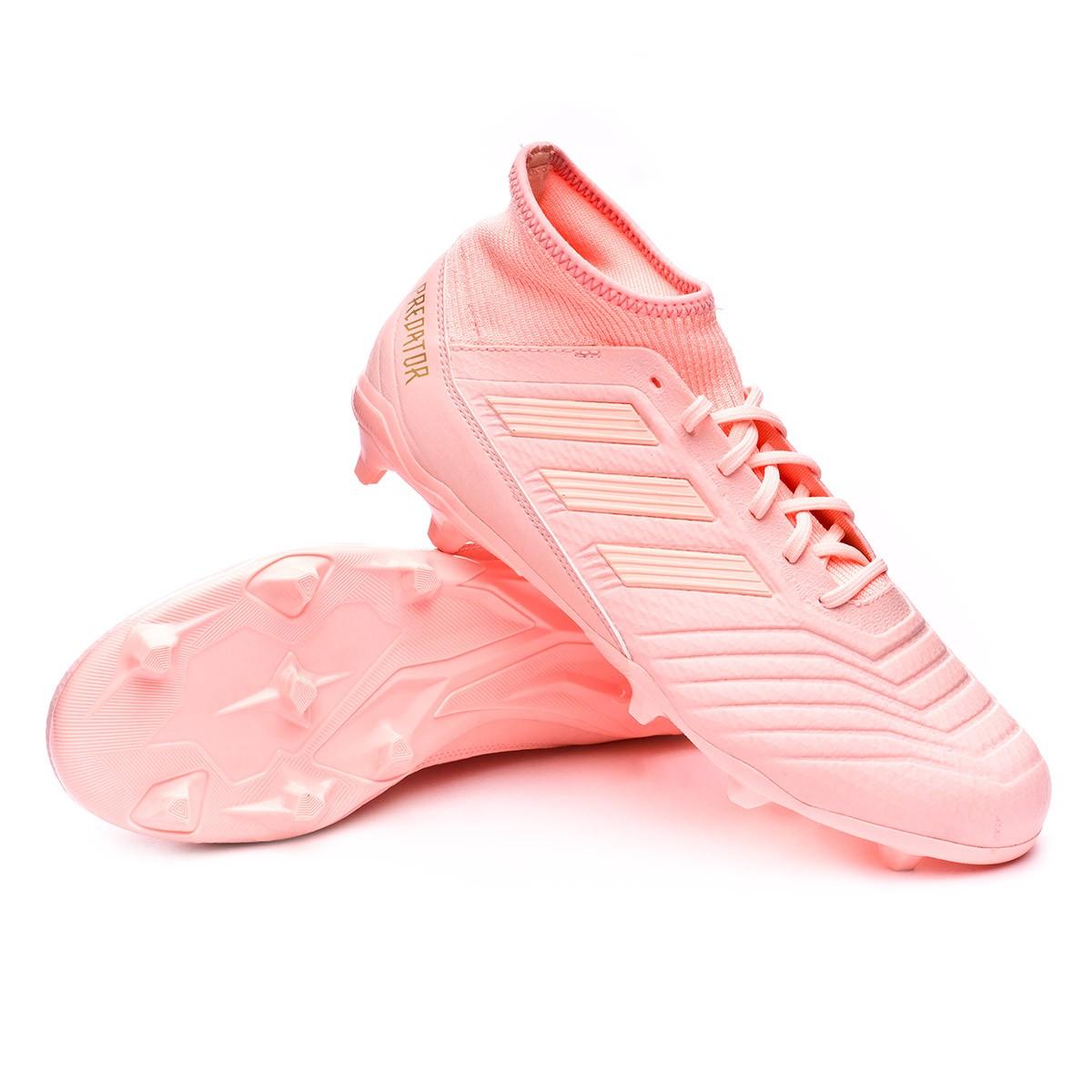 estilo actualizado última venta zapatos exclusivos adidas predator 18.3 fg rosa