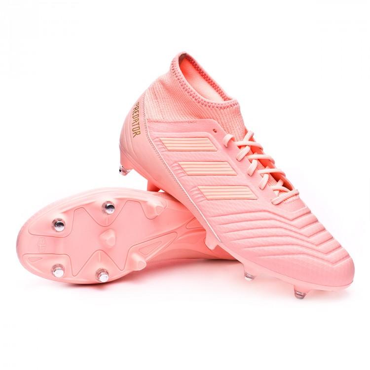 Chuteira adidas Predator 18.3 SG Clear orange-Trace pink - Loja de ... a1531b8880b60