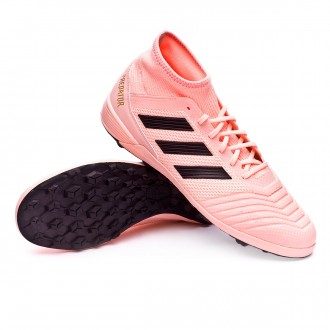 Zapatilla  adidas Predator Tango 18.3 Turf Clear orange-Black-Trace pink