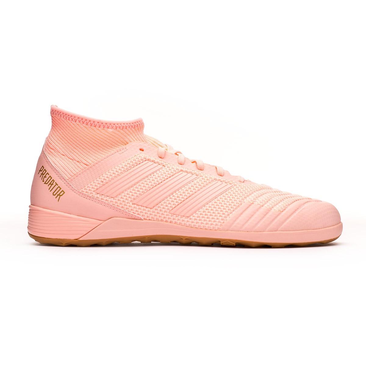 info for 86e8b 1e4fa Futsal Boot adidas Predator Tango 18.3 IN Clear orange-Gold metallic -  Football store Fútbol Emotion