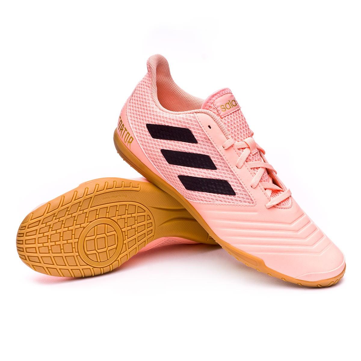 ee44424b6f73 Futsal Boot adidas Predator Tango 18.4 Sala Clear orange-Black-Clear ...