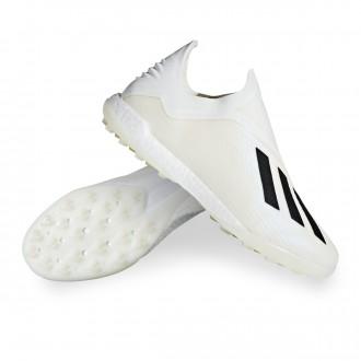 Zapatilla  adidas X Tango 18+ Turf Off white-Core black-White