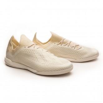 Sapatilha  adidas X Tango 18.1 TR Off white-White-Core black