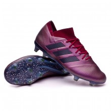 Boot Nemeziz 18.1 FG Maroon-Legend ink-Collegiate burgundy
