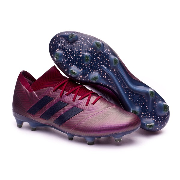 c1a7f6b4f Football Boots adidas Nemeziz 18.1 FG Maroon-Legend ink-Collegiate burgundy  - Football store Fútbol Emotion