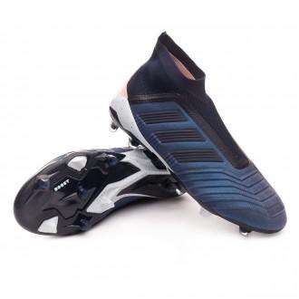 Boot  adidas Predator 18+ FG Trace blue-Legend ink-Clear orange