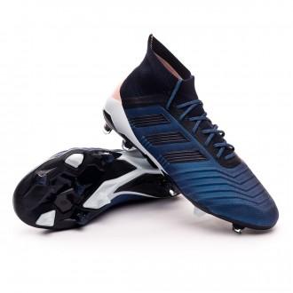 Boot  adidas Predator 18.1 FG Trace blue-Legend ink-Clear orange