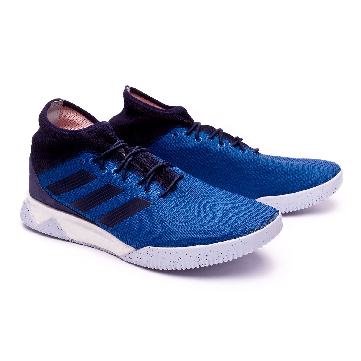7ffd5924f728a5 adidas Predator Tango 18.1 TR Trainers. Trace blue-Legend ink-Clear orange  ...