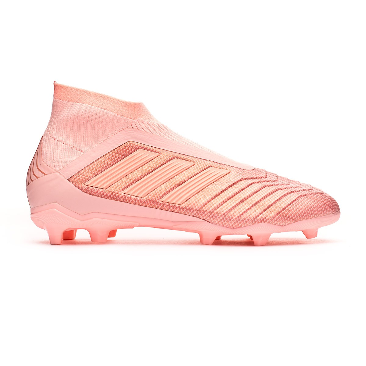 7f14cd89c27d Football Boots adidas Kids Predator 18+ FG Clear orange-Trace pink - Tienda  de fútbol Fútbol Emotion