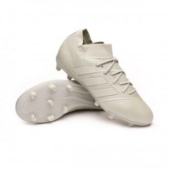 Scarpe calcio  adidas Nemeziz 18.1 FG Junior Ash silver-White tint