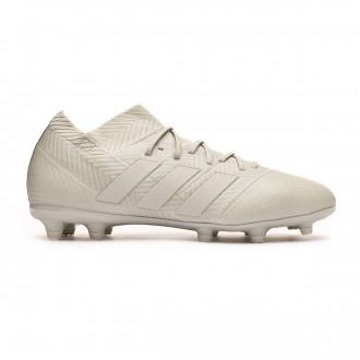 Football Boots  adidas Kids Nemeziz 18.1 FG Ash silver-White tint