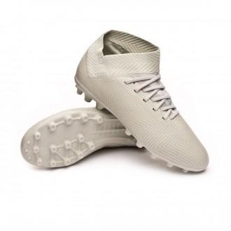 Bota  adidas Nemeziz 18.3 AG Niño Ash silver-White tint