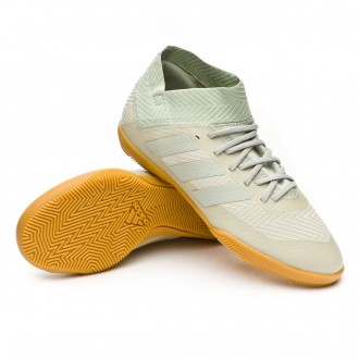 Zapatilla  adidas Nemeziz Tango 18.3 IN Niño Ash silver-White tint